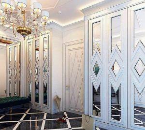 Двери с делителем наклейкой Новошахтинск