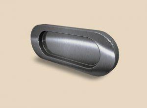 Ручка серебро глянец овальная Италия Новошахтинск