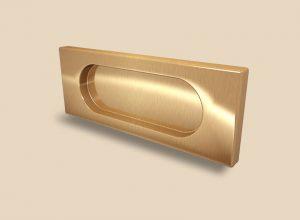 Ручка Золото глянец прямоугольная Италия Новошахтинск