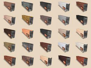 """Алюминиевый ламинированный профиль """"HOLZ"""" для шкафов купе и межкомнатных перегородок Более 100 цветов Новошахтинск"""