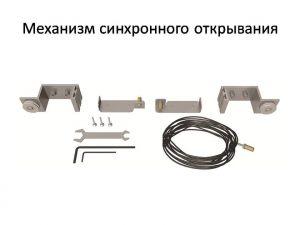 Механизм синхронного открывания для межкомнатной перегородки  Новошахтинск