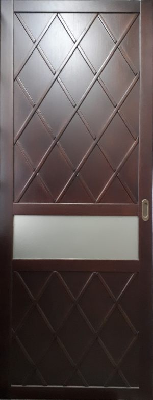 Вставка в дверь с фигурной филенкой Новошахтинск
